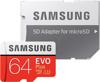 Image de MB-MC64GA / EU Carte mémoire MicroSDXC Evo + Classe 10 64 Go avec adaptateur