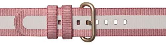 Image de XVR500BRA Bracelet textile pour Samsung Galaxy Watch Active 2, rose