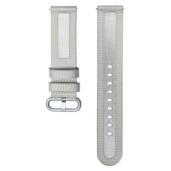 Image de XVR500BRA Bracelet textile pour Samsung Galaxy Watch Active 2, Gris