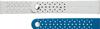 Image de XVR500BRA Bracelet textile pour Samsung Galaxy Watch Active 2, bleu gris