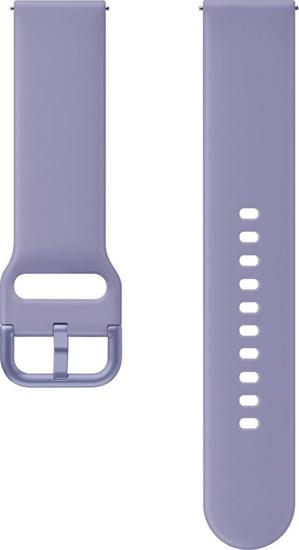 Image de SFR82MVE Bracelet Sport Renaissance FKM pour Galaxy Watch Active 2, Violet