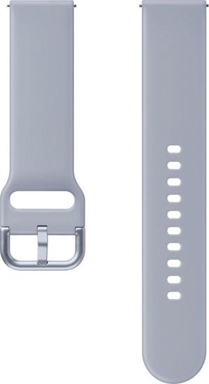Bild von SFR82MSE Renaissance FKM Sportarmband für Galaxy Watch Active 2, Cloud Silver