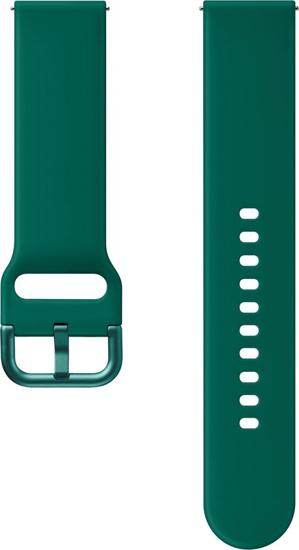Image de SFR82MSE Bracelet Sport FKM Renaissance pour Galaxy Watch Active 2, vert