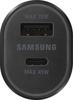 Image de Chargeur voiture Samsung Dual Fast 45W et 15W EP-L5300XB noir