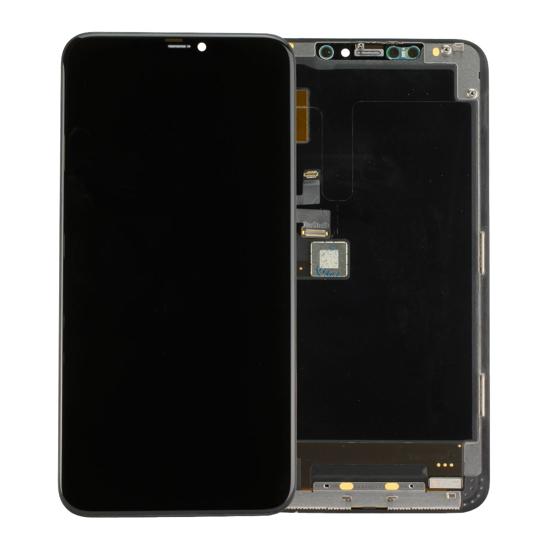 Image de Unité d'affichage pour iPhone 11 Par max Noir