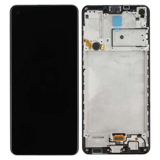 Image de Unité d'affichage pour Samsung Galaxy A21s A217F, noir