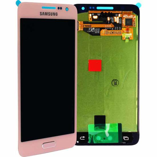 Image de Unité d'affichage pour Samsung Galaxy A3 A300, rose