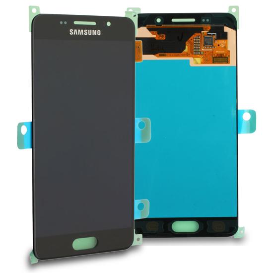 Bild von Display Einheit für Samsung Galaxy A3 2016 A310, Schwarz
