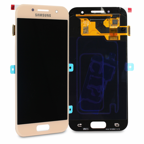 Bild von Display Einheit für Samsung Galaxy A3 2017 A320, Pink