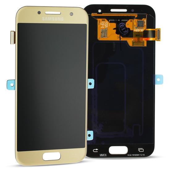 Bild von Display Einheit für Samsung Galaxy A3 2017 A320, Gold
