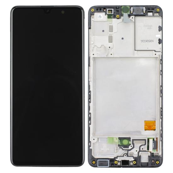 Image de Unité d'affichage pour Samsung Galaxy A41 (A415F/DS), noir