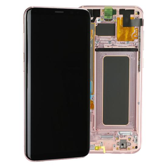 Image de Unité d'affichage pour Samsung Galaxy S8 + G955, rose