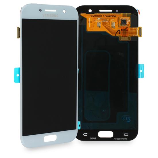 Image de Unité d'affichage pour Samsung Galaxy A5 2017 A520, bleu