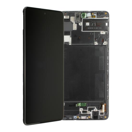 Image de Unité d'affichage pour Samsung Galaxy A71 A715F, noir