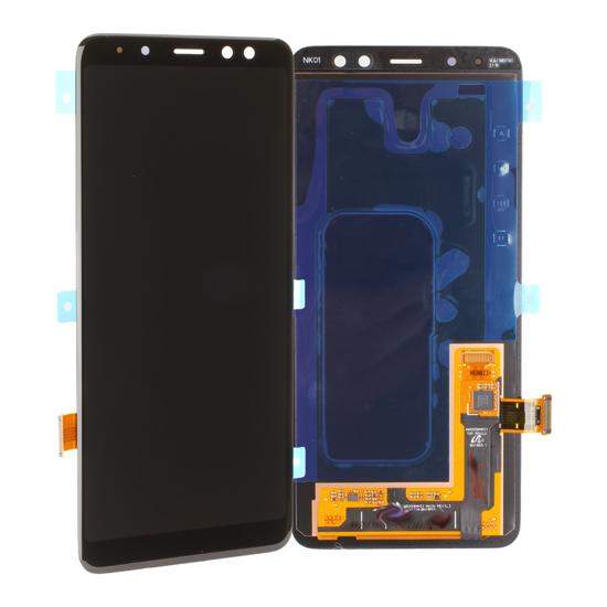 Image de Unité d'affichage pour Samsung Galaxy A8 2018 A530, noir