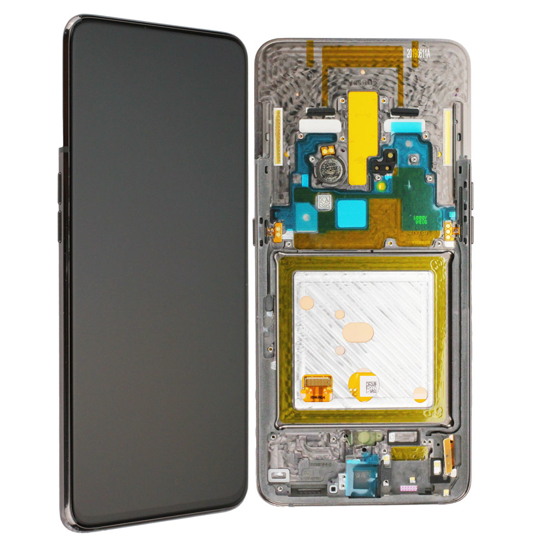 Image de Unité d'affichage pour Samsung Galaxy A80 A805, noir