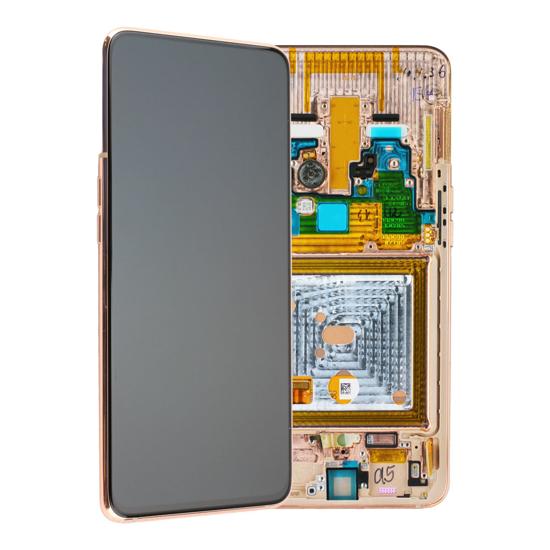 Image de Unité d'affichage pour Samsung Galaxy A80 A805, or