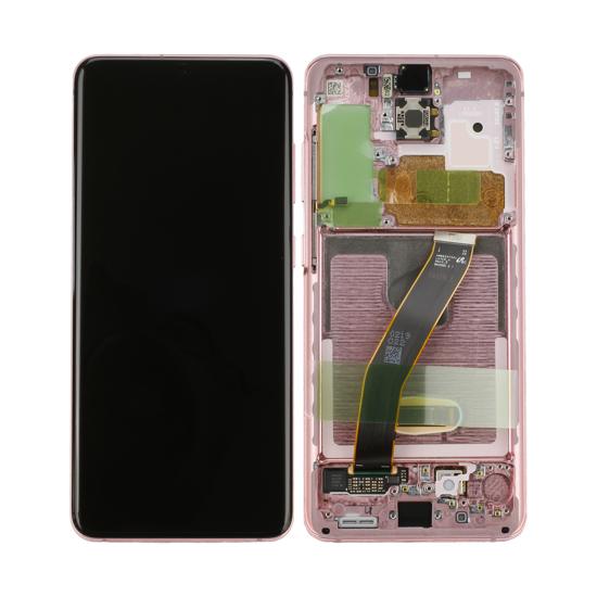 Image de Unité d'affichage pour Samsung Galaxy S20 G980F / S20 5G G981F, Cloud Pink