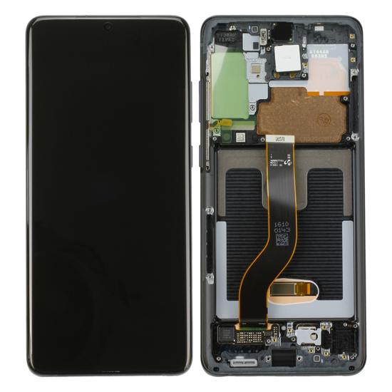 Image de Unité d'affichage pour Samsung Galaxy S20+ G985F/S20+ 5G G986, Cosmic Black