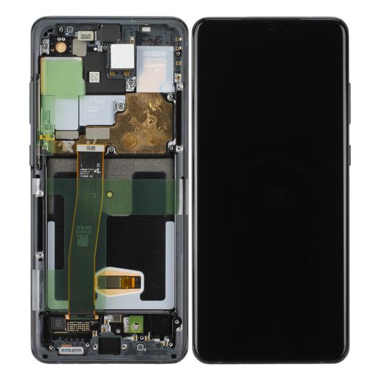 Image de Unité d'affichage pour Samsung Galaxy S20 Ultra G988F / S20 Ultra 5G G988B, Cosmic Black
