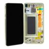 Image de Unité d'affichage pour Samsung Galaxy S10e G970, jaune canari