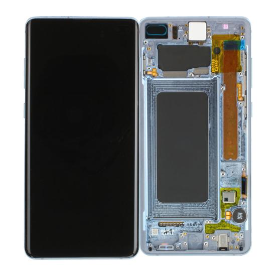 Image de Unité d'affichage pour Samsung Galaxy S10 + G975, Prism Blue