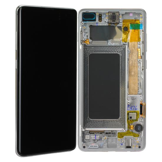 Image de Unité d'affichage pour Samsung Galaxy S10 + G975, Prism White