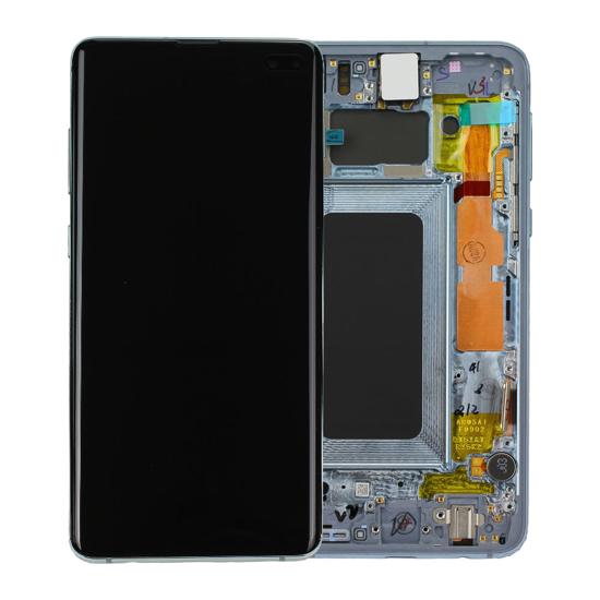 Image de Unité d'affichage pour Samsung Galaxy S10 + G975, Prism Green