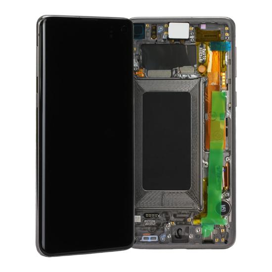 Image de Unité d'affichage pour Samsung Galaxy S10 G973, Prism Black
