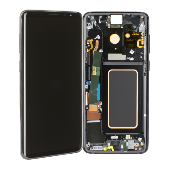 Image de Unité d'affichage pour Samsung Galaxy S9 + G965, Midnight Black