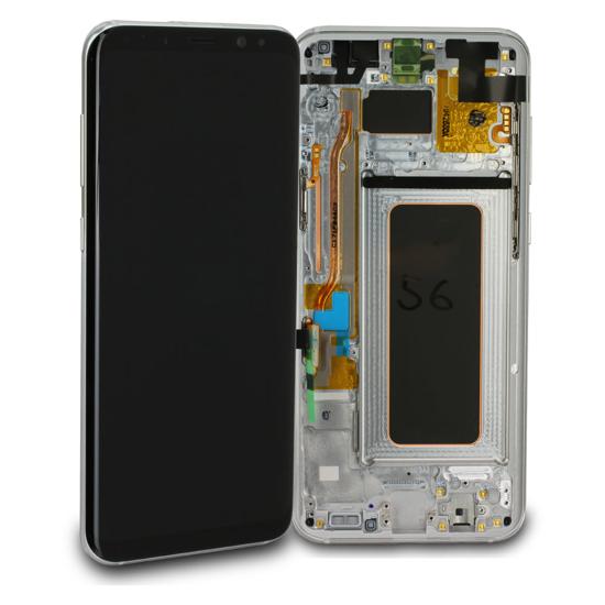 Image de Unité d'affichage pour Samsung Galaxy S8 + G955, argent