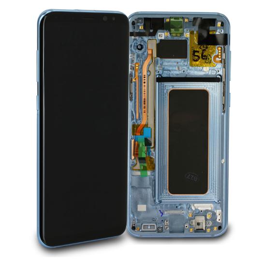 Image de Unité d'affichage pour Samsung Galaxy S8 + G955, bleu corail