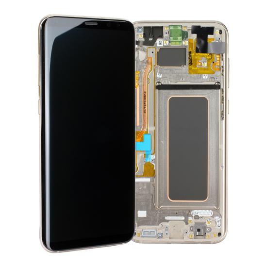 Image de Unité d'affichage pour Samsung Galaxy S8 + G955, or