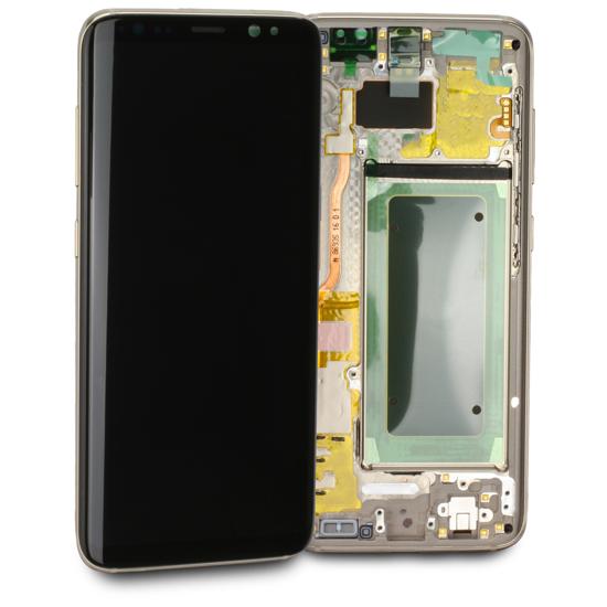 Image de Unité d'affichage pour Samsung Galaxy S8 G950, or