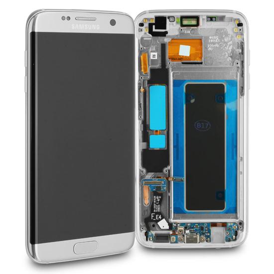 Image de Unité d'affichage pour Samsung Galaxy S7 Edge G935, argent