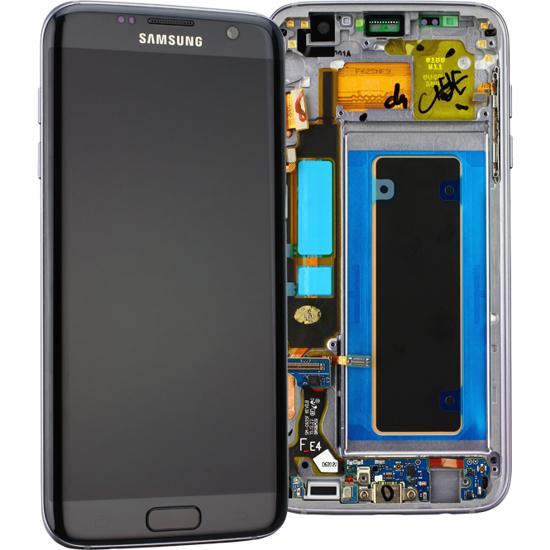 Image de Unité d'affichage pour Samsung Galaxy S7 Edge G935, Noir
