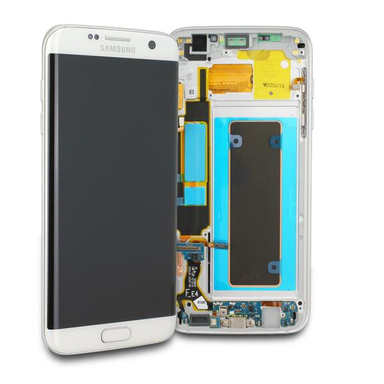 Image de Unité d'affichage pour Samsung Galaxy S7 Edge G935, blanc