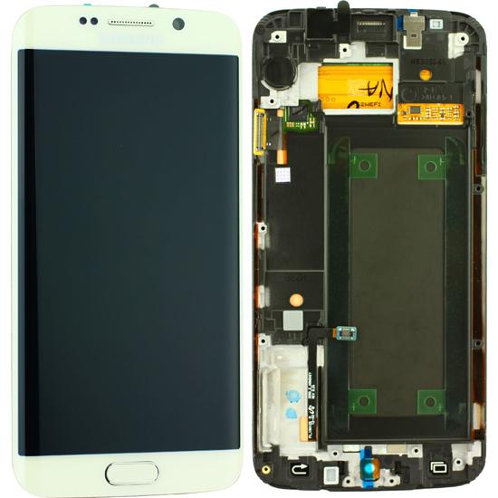 Image de Unité d'affichage pour Samsung Galaxy S6 Edge G925, blanc