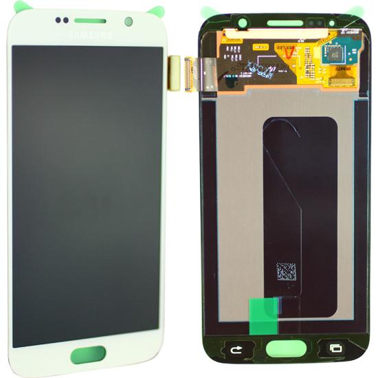 Bild von Display Einheit für Samsung Galaxy S6 G920, Weiß