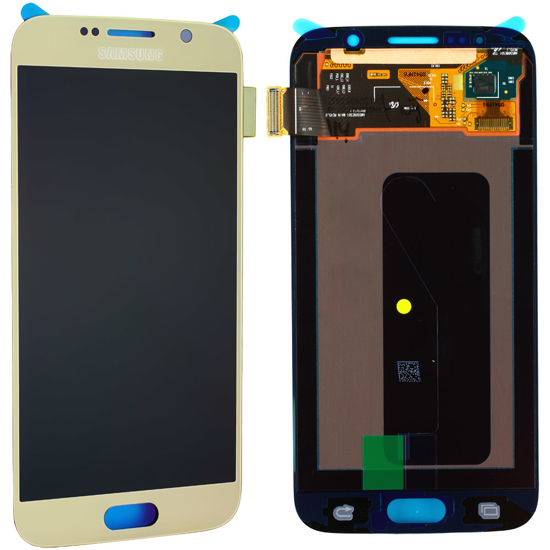Image de Unité d'affichage pour Samsung Galaxy S6 G920, or