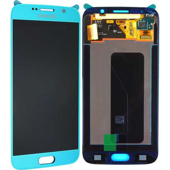 Image de Unité d'affichage pour Samsung Galaxy S6 G920, bleu