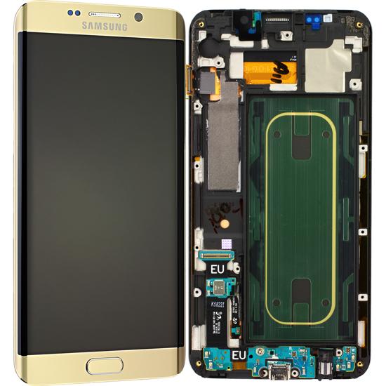 Image de Unité d'affichage pour Samsung Galaxy S6 Edge+ G928, or