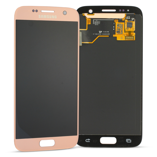 Image de Unité d'affichage pour Samsung Galaxy S7 G930, rose
