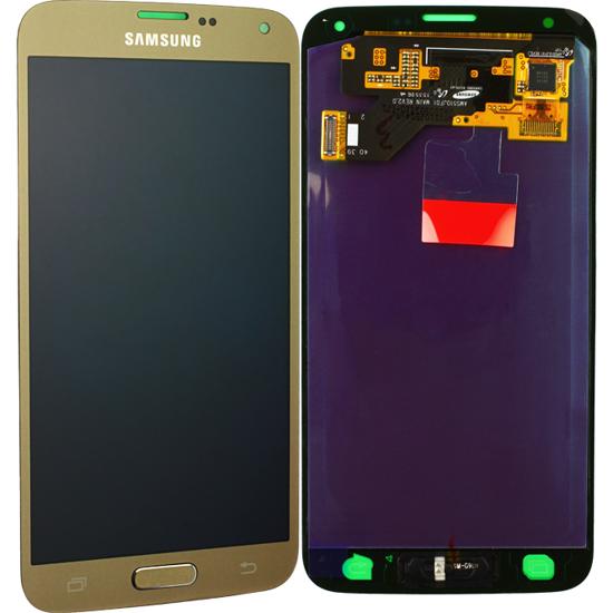 Image de Unité d'affichage pour Samsung Galaxy S5 Neo G903, or