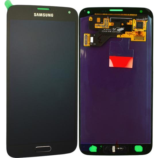 Image de Unité d'affichage pour Samsung Galaxy S5 Neo G903, noir