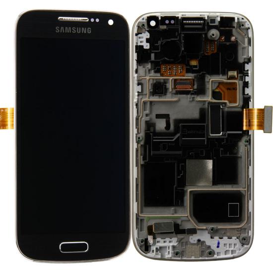 Image de Unité d'affichage pour Samsung Galaxy S4 Mini i9195, Black Mist