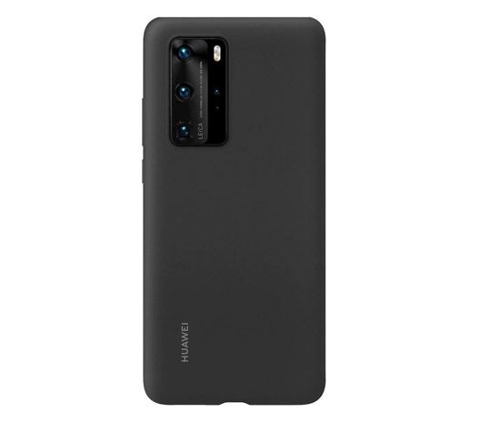 Image de Coque en silicone pour Huawei P40 Pro Noir