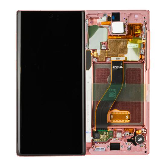 Image de Unité d'affichage pour Samsung Galaxy Note 10 N970, Aura Pink