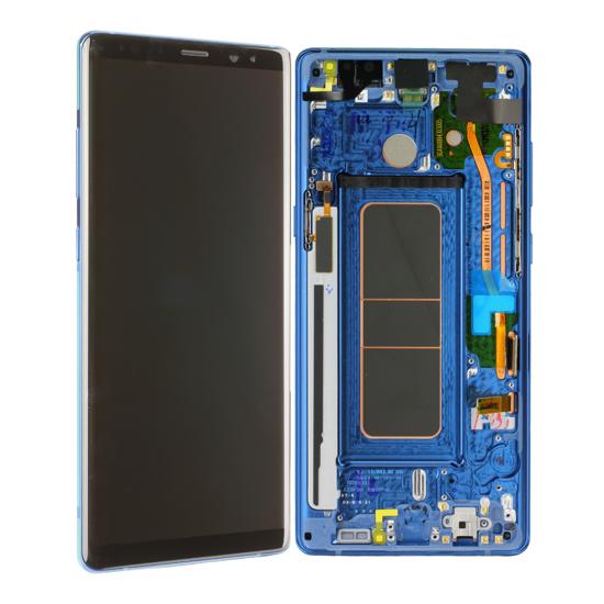 Image de Unité d'affichage pour Samsung Galaxy Note 8 N950, bleu