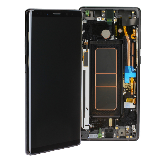 Image de Unité d'affichage pour Samsung Galaxy Note 8 N950, Noir